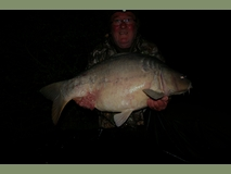 Mike with Bigscale - 50 lb 2 oz - April 2011