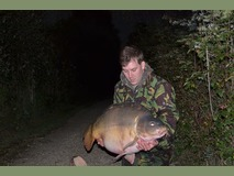Steves new pb - 50 lb 2 oz swim 5 - September 2013