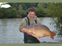 Steve swim 5 - 38 lb 4 oz - September 2013