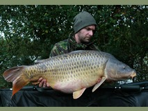 Johnathan swim 4 pb - 40lb 4oz Scar the common - October 2013