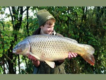 Tom swim 2 - 34 lb 8 oz new PB - October 2013