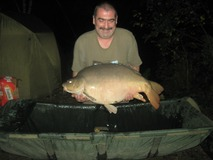 Obby swim 9 - 37 lb new pb - October 2013