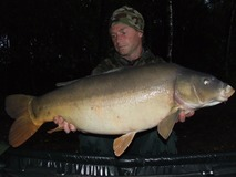 Paul swim 11 - 35 lb 4 oz Leather - October 2013