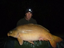 Andrew's new PB - 41 lb swim 5 - April 2014