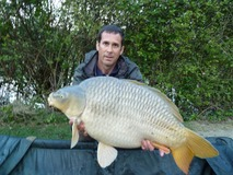 Andrew nice disk shaped common - 29 lb swim 5 - April 2014