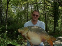 Rob - 39 lb 8 oz swim 10 - April 2014