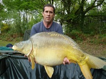 Andrew's new PB - 46 lb swim 12 - April 2014