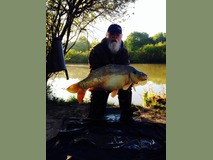 Phil's new pb mirror - 28 lb swim 3 - May 2014
