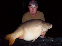 Ernie - 41 lb swim 9 - May 2014