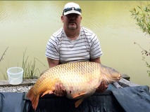 Steve's new pb common - 55 lb 8 oz swim 12  - June 2014