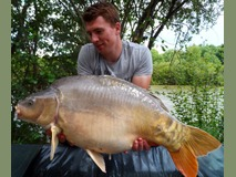 Rob - 33 lb 8 oz swim 3 - June 2014