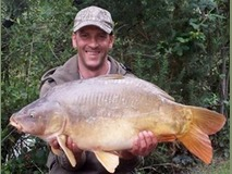 Jay - 23 lb 12 oz Stock lake - July 2014