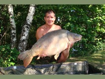 John swim 2 - 37 lb 12 oz peachy keen - August 2014