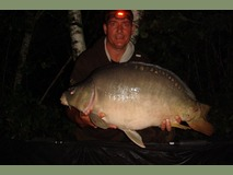 John swim 2 - 31 lb peachy keen - August 2014