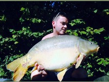 Matt - 33 lb swim 2 - September 2014