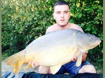 Matt - 38 lb swim 2 - September 2014