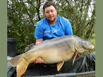 Ryan's PB The Sub - 48 lb 8 oz swim 3 - September 2014