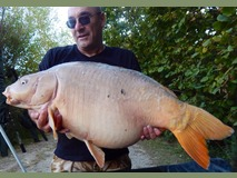 Camo's PB - 45 lb 2 oz swim 2 prf - September 2014