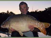 Brian's PB - 44 lb 2 oz swim 5 - September 2014