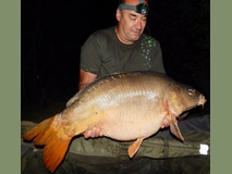 Camo's New PB - 46 lb swim 2 - September 2014