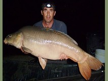 Andrew's PB The Sub - 48 lb 8 oz swim  - September 2014