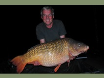 Colin's PB Amber - 54 lb 8 oz swim 4 - September 2014