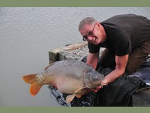 Rob - swim 5 40 lb 6 oz - September 2014