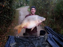 Ian - swim 5 38 lb 4 oz - October 2014