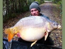 Mick - 43 lb swim 9 - October 2014