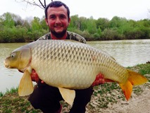 James - 38 lb swim 4 - April 2015