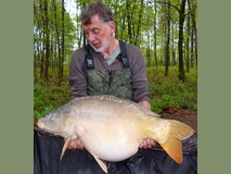 Roger - 40 lb 2 oz swim 11 - April 2015