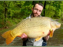 Steve's PB common - 44 lb 4 oz swim 11 - May 2015
