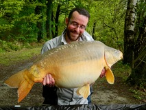 Steve - 40 lb 4 oz swim 11 - May 2015