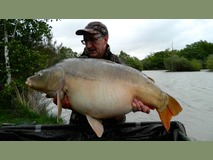 Keith's PB - 44 lb 4 oz swim 5  - May 2015
