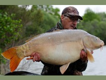 Keith - 40lb swim 5  - May 2015