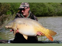 Keith - 39 lb 4 oz swim 5 - May 2015