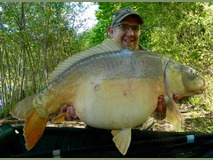 David - 45 lb 4 oz swim 9  - May 2015