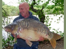 Mick with The Big Scale - 55 lb swim 11 - May 2015