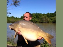 Roger - 33 lb 8 oz swim 3  - May 2015