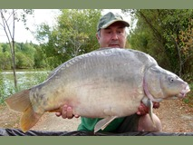 Bob - 31 lb 6 oz swim 4  - July 2015