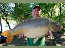 Bob - 36 lb 14 oz swim 10  - July 2015