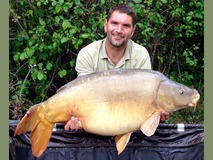 Scott with Broken Tail - 43 lb 4 oz swim 5 - August 2015