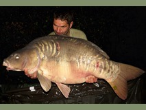 Scott with The Big Scale - 51 lb swim 5 - August 2015