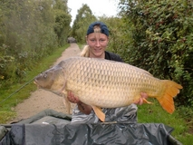 Vickys PB Common - 46 lb - August 2011
