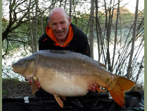 Steve swim 9 with William - 51 lb 8 oz  - April 2017