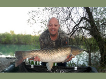 Neil's PB swim 11 - 32 lb 8 oz - April 2017