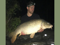 Ian's 2 nd PB common - 41 lb swim 9 4th PB - May 2017