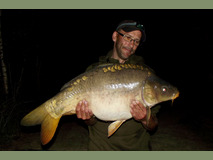 Jay with a stockie - 27 lb 3 oz  - May 2017