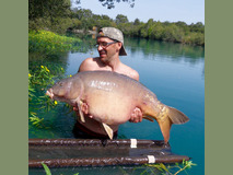 Jay with Sid fish number 7 - 52 lb 2 oz New 50 ! - August 2017