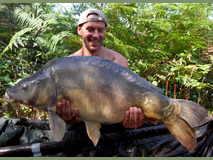 Jay with Nobby - 36 lb 8 oz swim 3 - August 2017